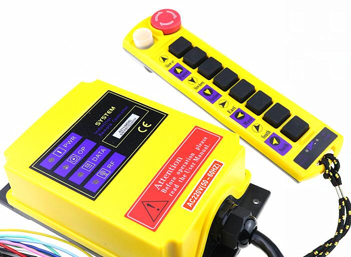 A211 Cupid type 9 key traveling crane industrial wireless remote controller can be customized-in Switches from Lights & Lighting    2