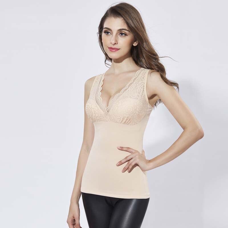 KYLIE PINK Hot Shaper Slim Up Lift Plus Size Bra Cami Tank Top Women Body Removable Underwear Slimming Vest Corset Shapewear