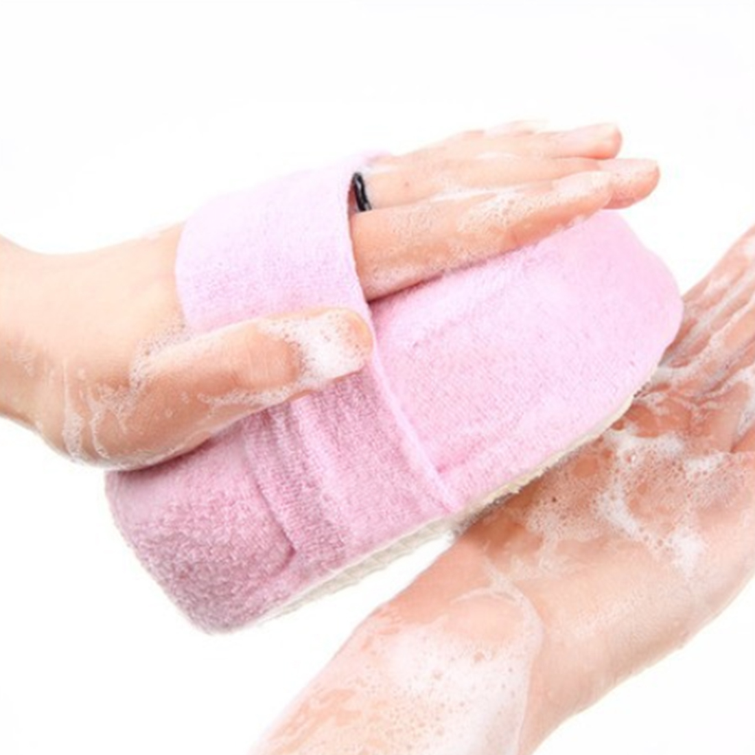 New Massager Shower Back Spa Scrubber Bath Ball Bath Tubs Cool Ball Bath Towel Scrubber Body Cleaning Mesh Shower Wash Sponge