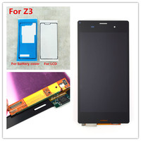 JIEYER 5 2 Black Or White Tested LCD Display For Sony Xperia Z3 D6603 D6653 L55t