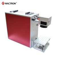 Mactron 20W Portable Fiber Laser Marking Machine for ABS,Plastic,Stainless Steel,Aluminum