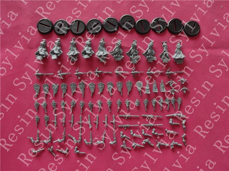 pre order-Resin toys Exemplar Errants  Free shipping resin assembly kits 1 9 200mm police girl 200mm unpainted kit resin model free shipping