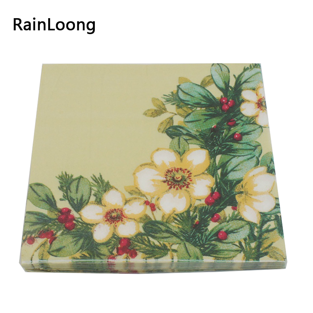 Buy Floral Paper Napkins And Get Free Shipping On Aliexpress