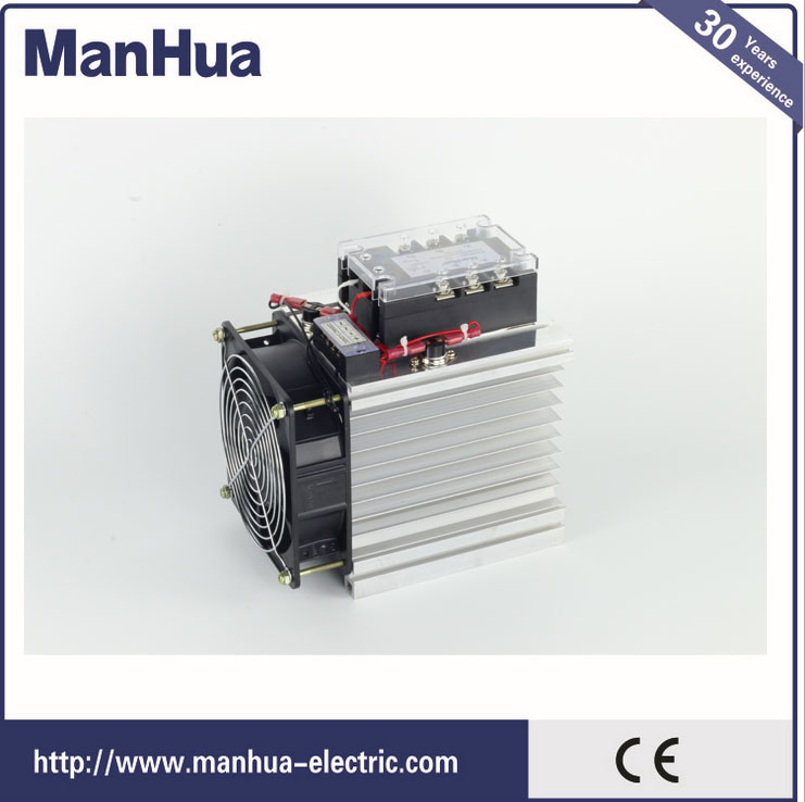 цена на Three Phase DC control AC 3-32VDC 120A Solid State Relay/SSR Relay With CE