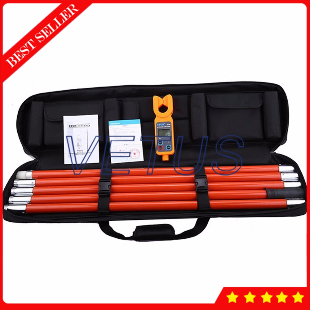 ETCR9100 en ligne AC courant moniteur haute/basse tension AC courant de fuite pince mètre avec ampèremètre numérique