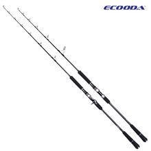 ECOODA EPJ II Full Fuji Parts Single Section 1.6m/1.68m/1.52m  Spinning/Casting Rod  Corss Carbon Boat Rod Jigging Rod