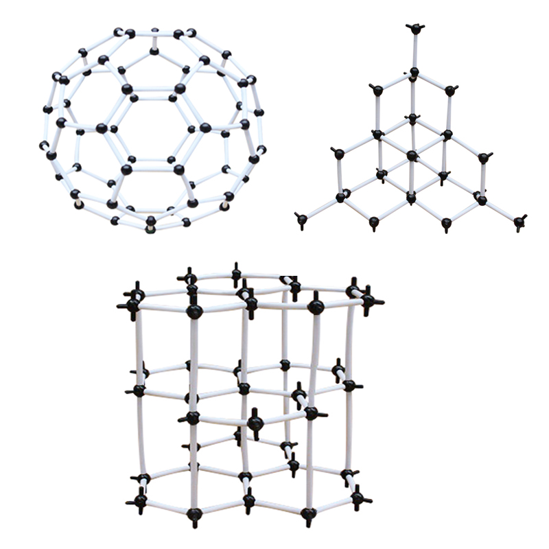 Carbon Structural Model of The Same Element In Different Form Teacher Tools Molecular Set Chemistry Crystal Structure Carbon сервер lenovo topseller x3650 m5 5462k7g