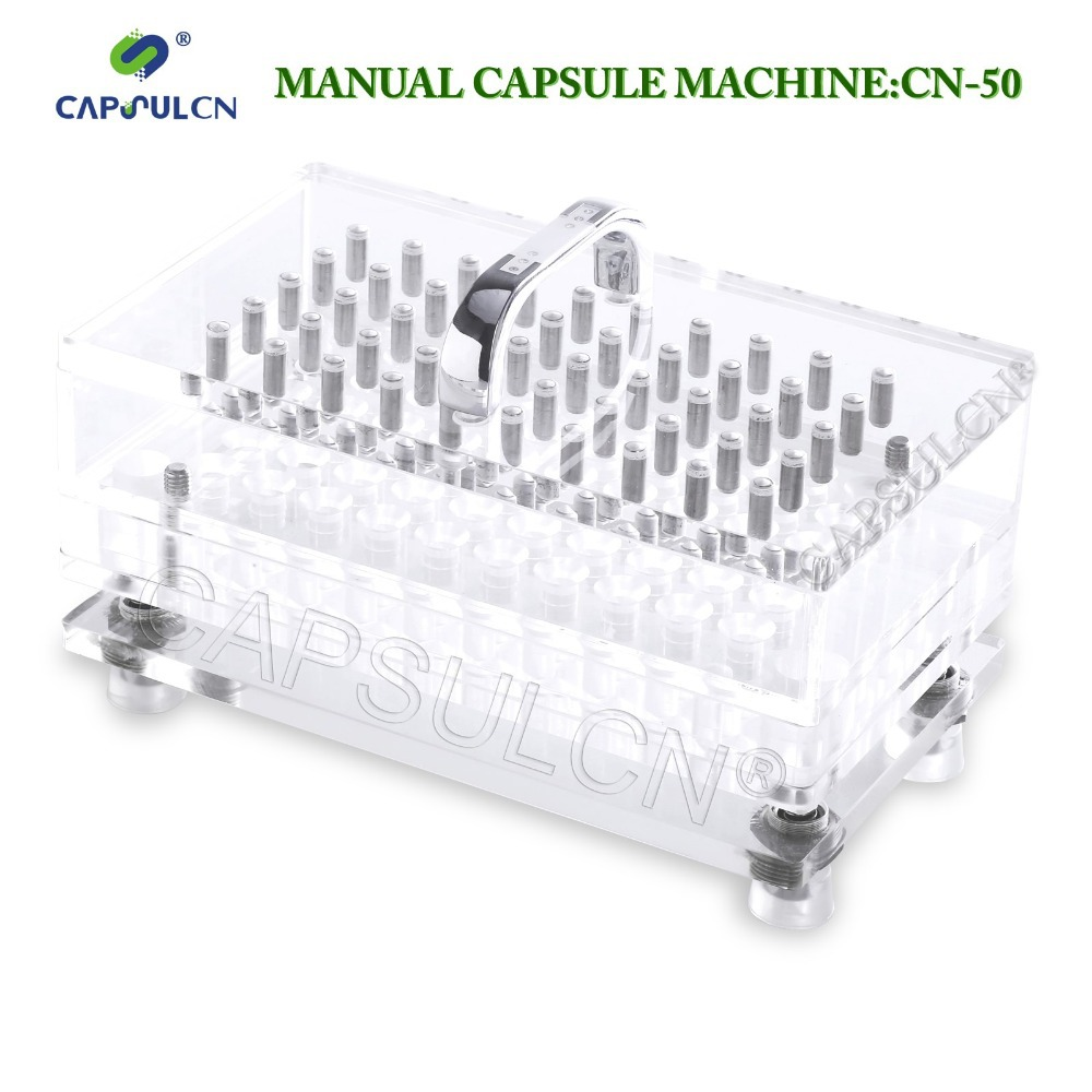 CapsulCN, CN 50CL Size4 Capsule Filling Machine/Fillable Capsules Machine Suit for Gelatin Capsules