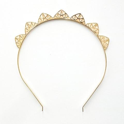 Купить женский треугольный обруч для волос chimera простой стильный