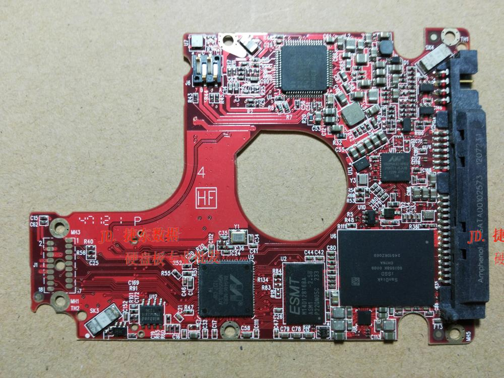 HDD PCB Logic Board Printed Circuit Red/green Board 2060-771910-003 For WD 2.5 SATA Hard Drive Repair Data Recovery
