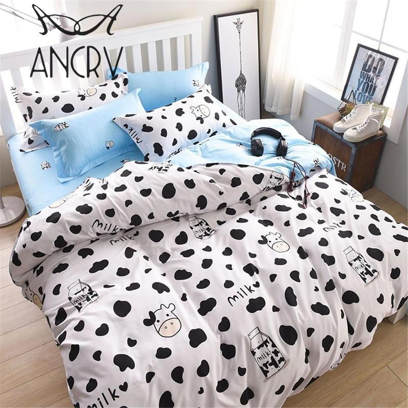 Well-Educated Child Kids 3pcs 4pcs Bedding Set Cute Girl Boy Bedlinens Queen King Twin Double Single Size Bed Sheet 1.2m 1.5m 2.0m Duvet Cover Solar