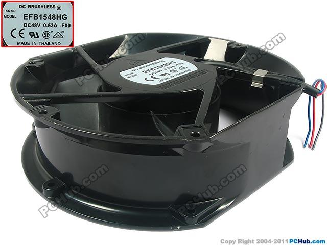 Delta EFB1548HG F00 DC 48V 0.53A 172x150x51mm Server Round fan цены онлайн