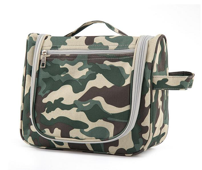 b74281a18ec8 Charmcci travel toiletry bag hanging mens boys military camouflage toiletry  bag hiking cheap nylon hook male toiletry bag -in Cosmetic Bags   Cases  from ...