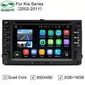 Quad Core Pure Android 5.1.1 Автомобиля DVD GPS Для Kia рио Cerato Sportage Picanto Sorento Carens Карнавал Лотце Утро Стерео радио