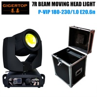 TIPTOP Flightcase 1 in 1 Pack 7R Moving Head Spot Light 16 Prism Lens with Frost Lens Electrical Focus OS RAM Bulb Freeshipping