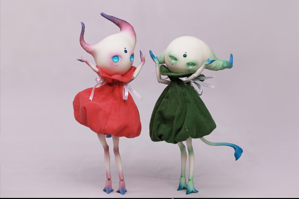 BJD SD Puppen Shan zha qing li 1/12 Körper Modell Mädchen Jungen nude puppe Hohe Qualität rücktritt Spielzeug Shop Zahlen geschenk freies gelegentliche augen-in Puppen aus Spielzeug und Hobbys bei  Gruppe 2