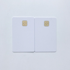 Image 2 - 50pcs/lot blank inkjet printable SLE4428 chip card contact pvc card credit card size print by epson or canon inkjet printers