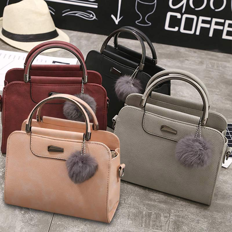 Модные женские туфли сумка из кожи и плюша, Цвет молнии полукруг ручка Сумки на плечо женская сумка wml99