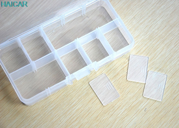 <font><b>1</b></font> Set <font><b>13</b></font>*6.5*<font><b>2</b></font> cm Clear Storage Case Box Holder Container Pills Jewelry Nail Art Tips <font><b>10</b></font> Grids Support Dropship feb22