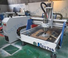 high quality 3d cnc router 6090 with water tank