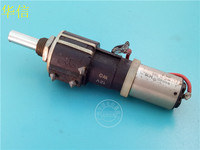 [VK] Used Swiss CONTELEC SSP 22 100K multi turn potentiometer with 12V motor switch
