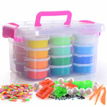 36 colors set Colorful Silly Putty font b Plasticine b font Kid Children For Fimo Polymer