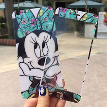 0 25mm Cute Bowtie Minnie Anti shock Front Back 2 5D Tempered glass Film Screen Protector