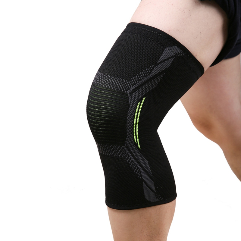 2019 Latest Design Breathable Warmth Kneepad Winter Sports Safety Knee Pads Training Elastic Knee Support Knee Protect 1pcs Elegant Shape