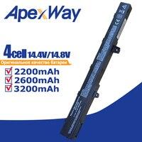 14.8V 4 A41N1308 0B110-00250100 a31n1319 Celular Bateria Do Portátil para Asus X451 X551 X451C X451CA X551C X551CA