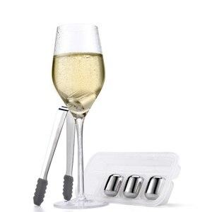 Image 2 - ใหม่ Youpin วงกลม Joy ICE CUBE 304 สแตนเลสล้างทำความสะอาดได้ระยะยาวใช้ ICE Maker สำหรับ Corks ไวน์ผลไม้น้ำ