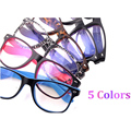 Large Frame Classic Design Anti Radiation Glasses Women and Men Red Blue Black Leopard Colorful Computer Glasses