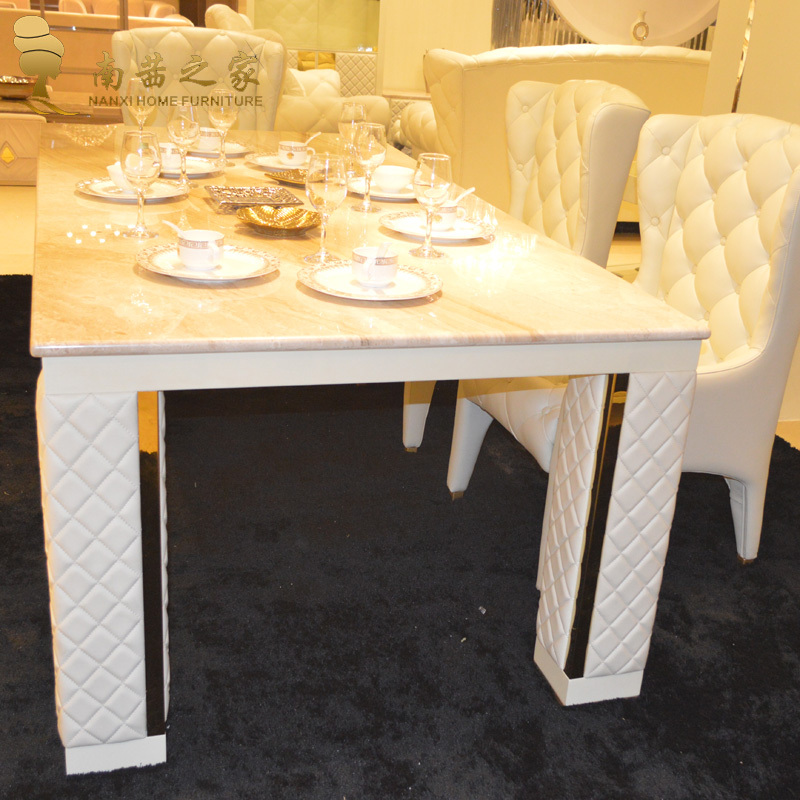 Table salle a manger marbre design int rieur meubles for Salle a manger english