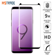 6D Curved Case Friendly Tempered Glass For Samsung Galaxy S8 Protective Film S9 Plus Screen Protector Not Full Cover