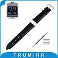 22mm pulseira de couro genuíno para samsung galaxy gear 2 neo r380 R381 Live R382 Smart Watch Band Alça de Pulso Pulseira + Ferramenta