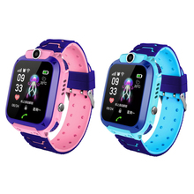 Q12 Smart Phone Watch for Children Student 1.44 Inch Waterproof Dial Call Voice Chat Smartwatch Sports