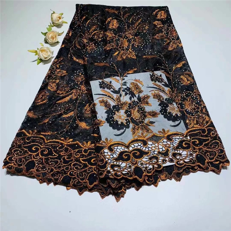 African Lace Fabric 2018 Embroidered Nigerian Laces Fabric Bridal High Quality French Tulle Lace Fabric For Women ZQ010501African Lace Fabric 2018 Embroidered Nigerian Laces Fabric Bridal High Quality French Tulle Lace Fabric For Women ZQ010501