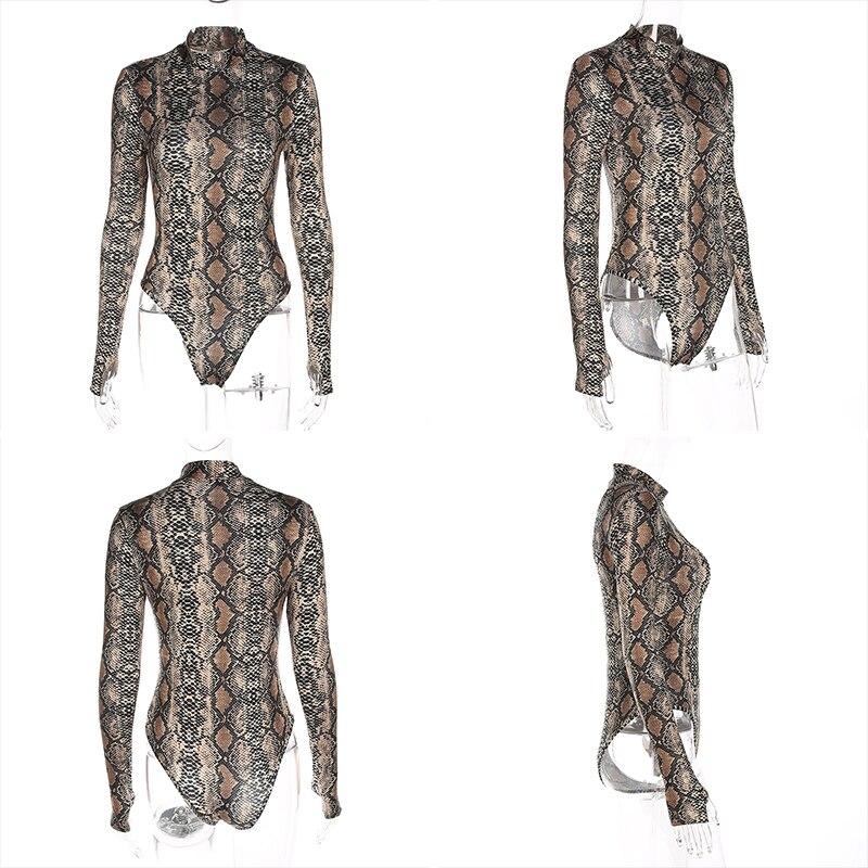 a97809e1627 Women s Clothing   Accessories    Bodysuits    Realpopu snake skin ...