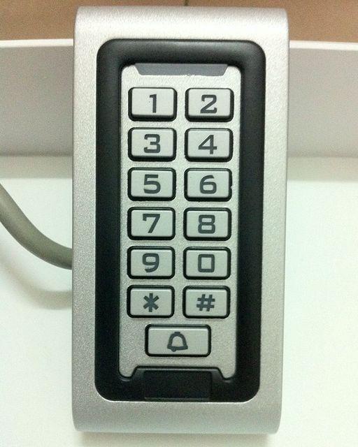 New RFID 125KHZ metal Brand Door access control System keyword