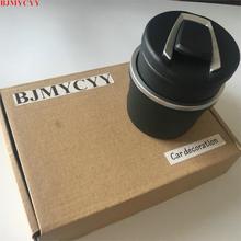 BJMYCYY Автомобиль Стайлинг Автомобильный Универсальный пепельница подкладке автомобильные аксессуары для BMW E46 E39 E60 E90 E36 F30 F10 X5 Z4