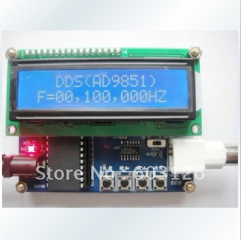 AD9850 (0 to 30 M) DDS source. Signal generator DDS module electronic competition module ad9850 module dds module ad9851 module high frequency signal source
