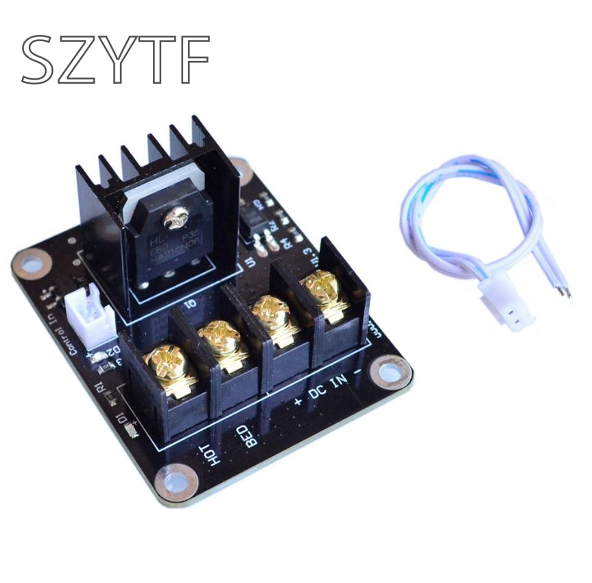 Integrated Circuits 3d Printer Board High Power Heat Bed Module Mos Tube Power Expansion Board High Current Load Accessories Electronic Components & Supplies