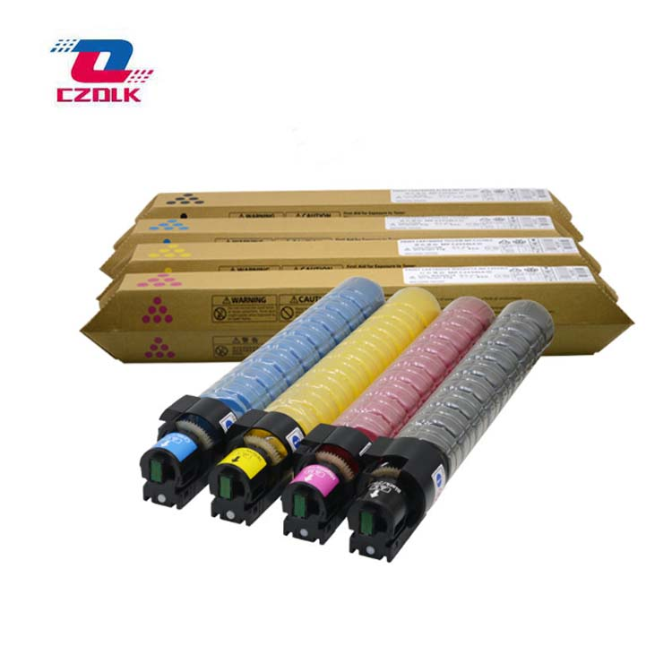 New Compatible Toner Cartridge for Ricoh MPC2010 MPC2030 MPC2050 MPC2051 MPC2550 MPC2551 BK:215g CMY:135GNew Compatible Toner Cartridge for Ricoh MPC2010 MPC2030 MPC2050 MPC2051 MPC2550 MPC2551 BK:215g CMY:135G