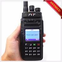 + Кабель! Gps TYT MD398/MD 398 Водонепроницаемый DMR цифровой Ручной двусторонней радиосвязи/Портативная рация IP67 10 Вт 400 470 мГц портативная рация gps