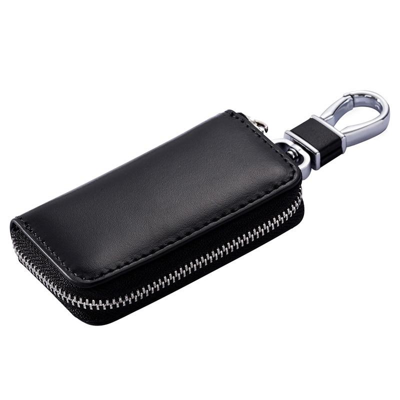Meet Reach Fashionable gifts Keys holder Organizer Manager Split leather Buckle key case Bag car keychain Protector Hot Sale