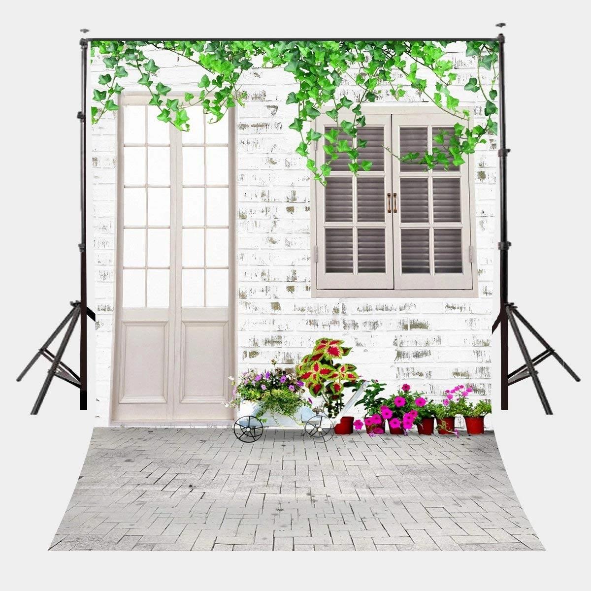 White House Window Photography Backdrops Photo Props Studio Background 5x7ft