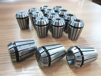 Free shipping Full 15pcs /size ER25 PRECISION SPRING COLLET Set For CNC Milling Lathe Tool
