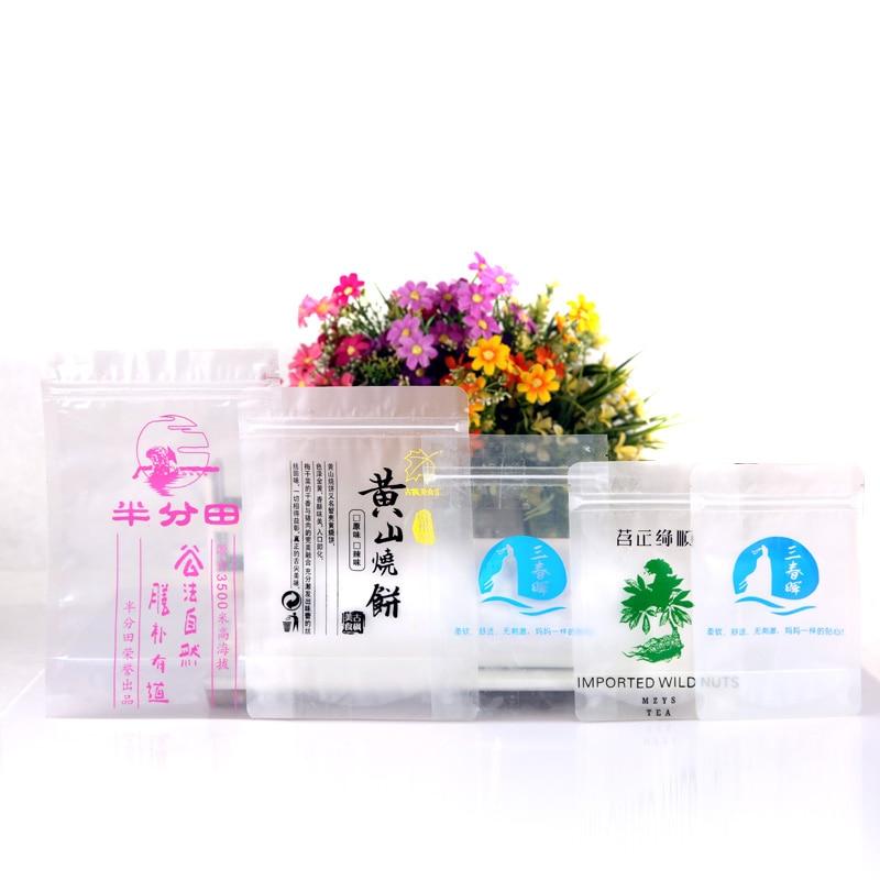 100 stks-500 stks Transparante Hersluitbare Stand Up Plastic Zakken, - Home opslag en organisatie - Foto 6