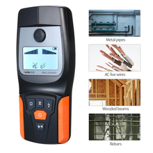 Multi-function Search Metal Detector Sensitive Wood/Wall Detector AC Live Wire Wood Finder with LCD Display Metal Finder все цены