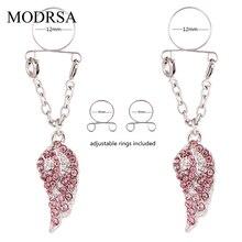 MODRSA 1Pair Sexy Non Pierced Clip On Fake