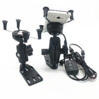 For Suzuki Burgman 125 400 650 SKY WAVE 650 AN400 GPS Navigation Frame Mobile Phone Navigation Bracket Motorcycle Accessories